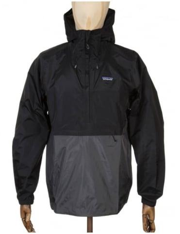 Patagonia Torrentshell Pullover Jacket - Black