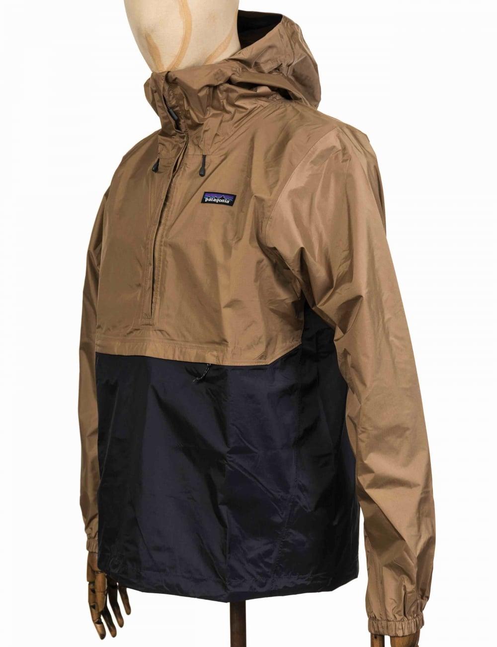 Patagonia Torrentshell Pullover Jacket - Mojave Khaki - Clothing ...