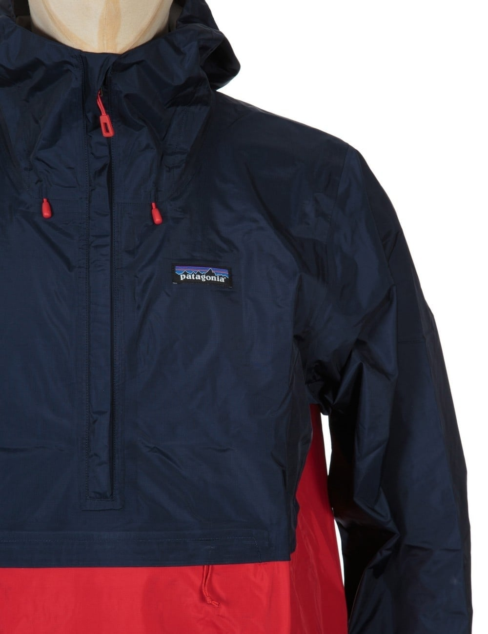 Patagonia Torrentshell Pullover Jacket - Navy Blue - Clothing from ...
