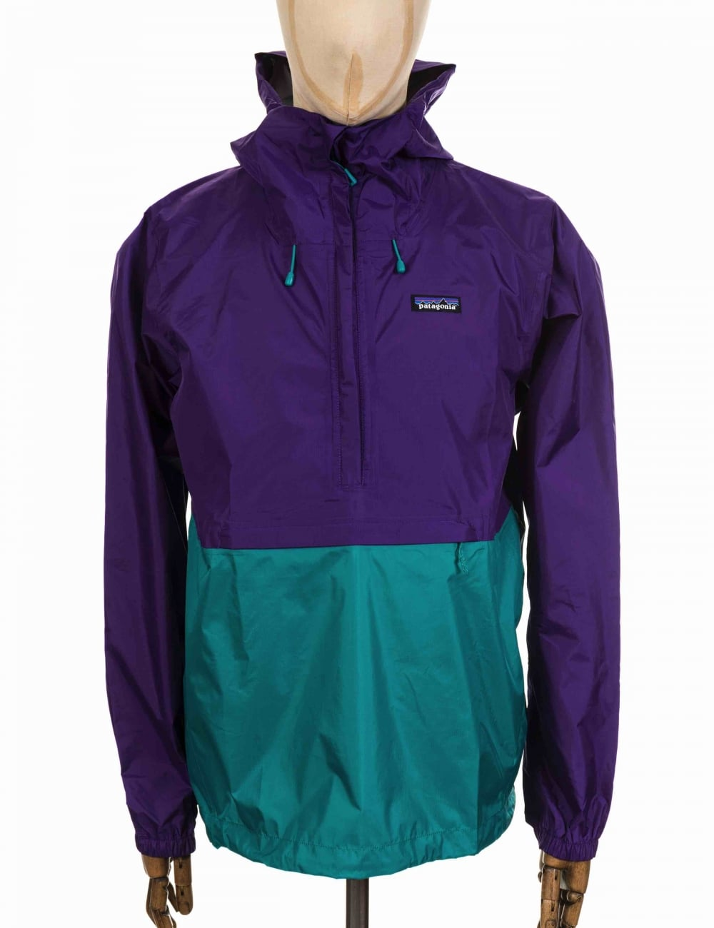 Patagonia Torrentshell Pullover Jacket - Purple - Clothing from ...