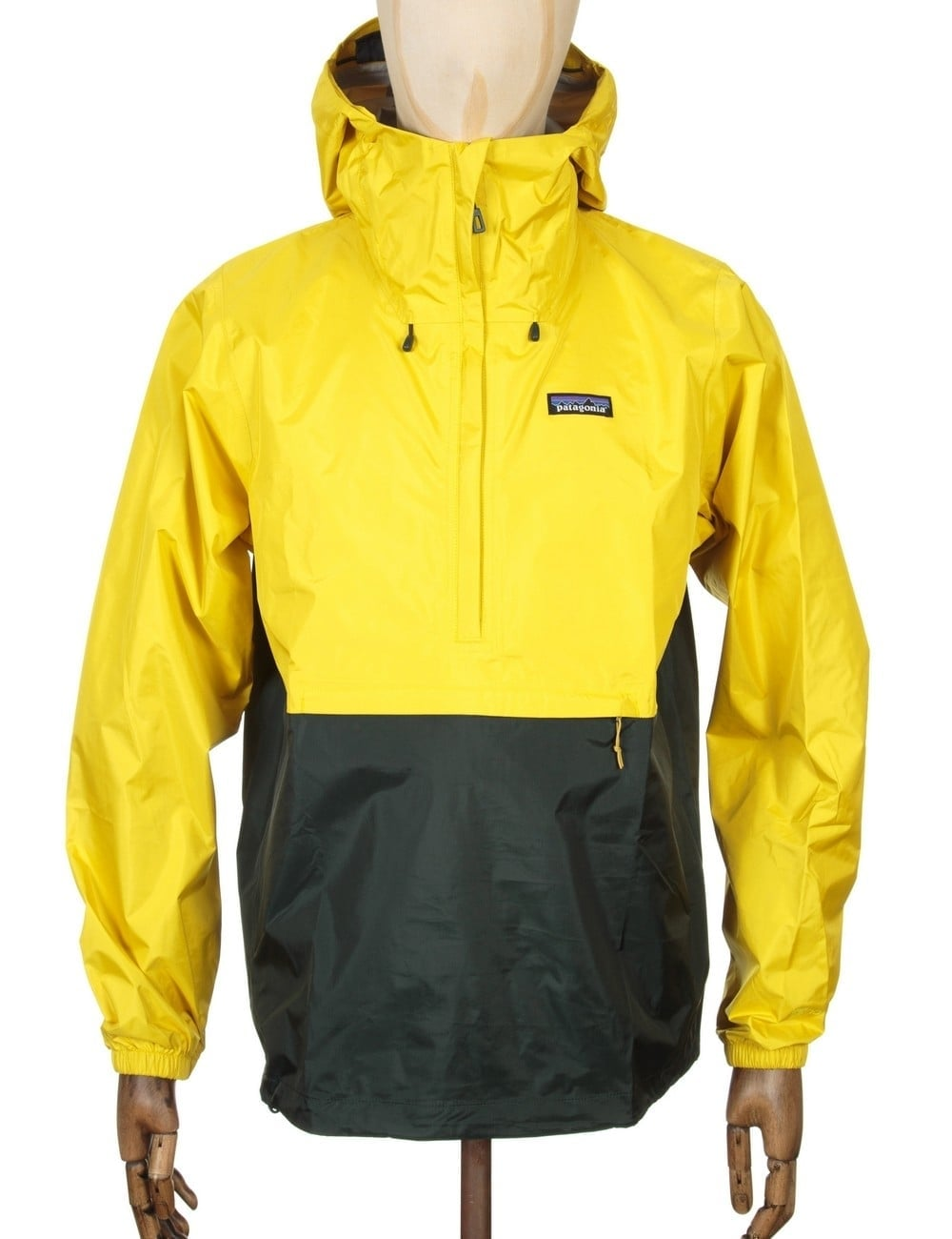 Patagonia Torrentshell Pullover Jacket - Yosemite Yellow ...