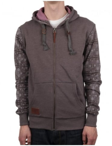 Pendleton Woolen Mills Crossroads Zip Through - Grey