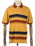 Pendleton Woolen Mills National Park Polo Shirt - Yellowstone (Gold)