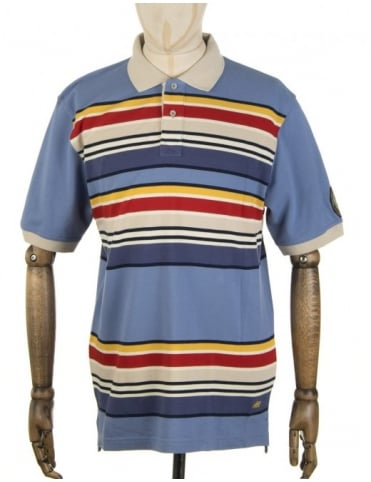 Pendleton Woolen Mills National Park Polo Shirt - Yosemite (Blue)
