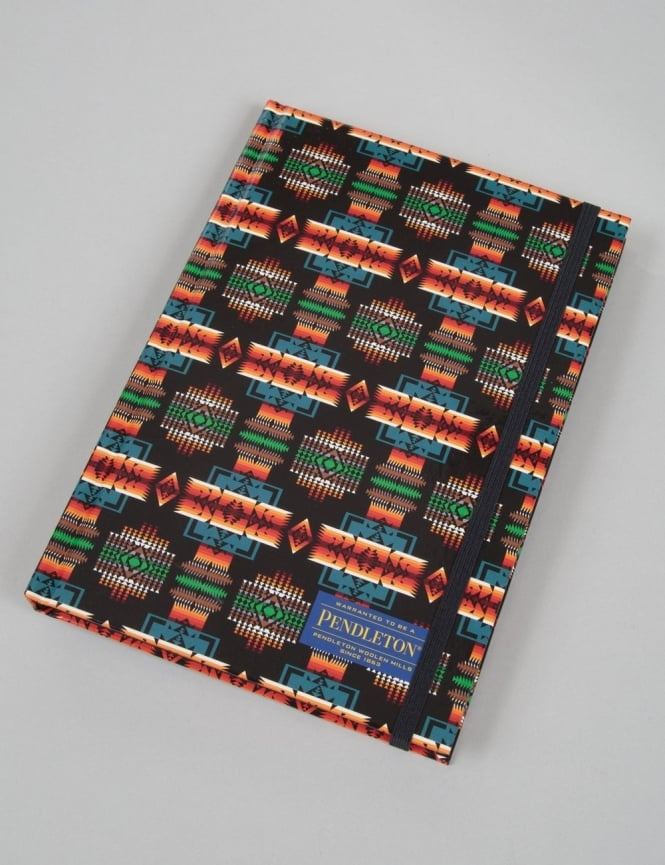Pendleton Woolen Mills Printed Notebook (Lined) - Black