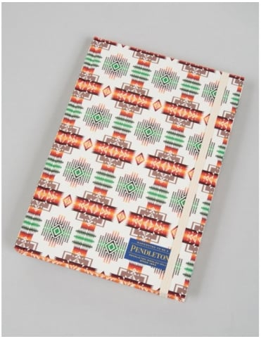 Printed Notebook (Lined) - White