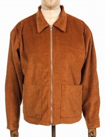 Jefferson Cord Jacket - Brown