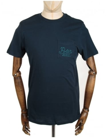 Poler Dreams Pocket Tee - Indigo