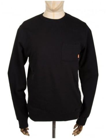 Poler Enlightenment Crew Sweat - Black