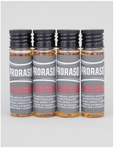 Proraso Hot Oil Beard Treatment - (4x17ml)
