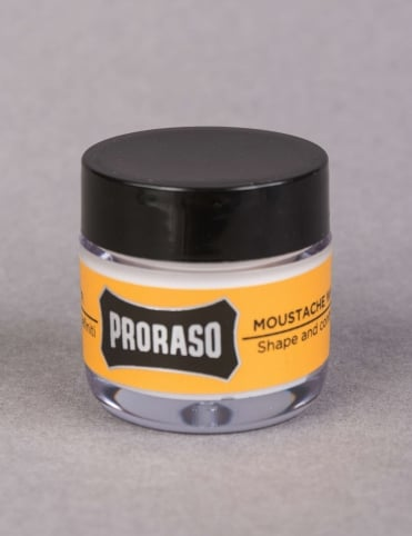 Moustache Wax - Wood & Spice (15ml)