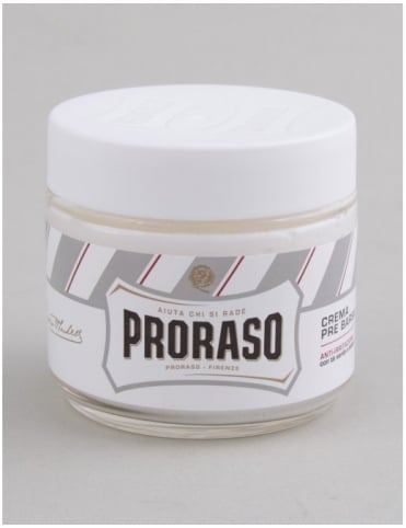 Proraso Pre Shave Cream Jar - Sensitive Skin (100ml)