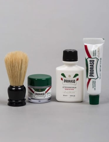 Travel Shaving Kit Box Set