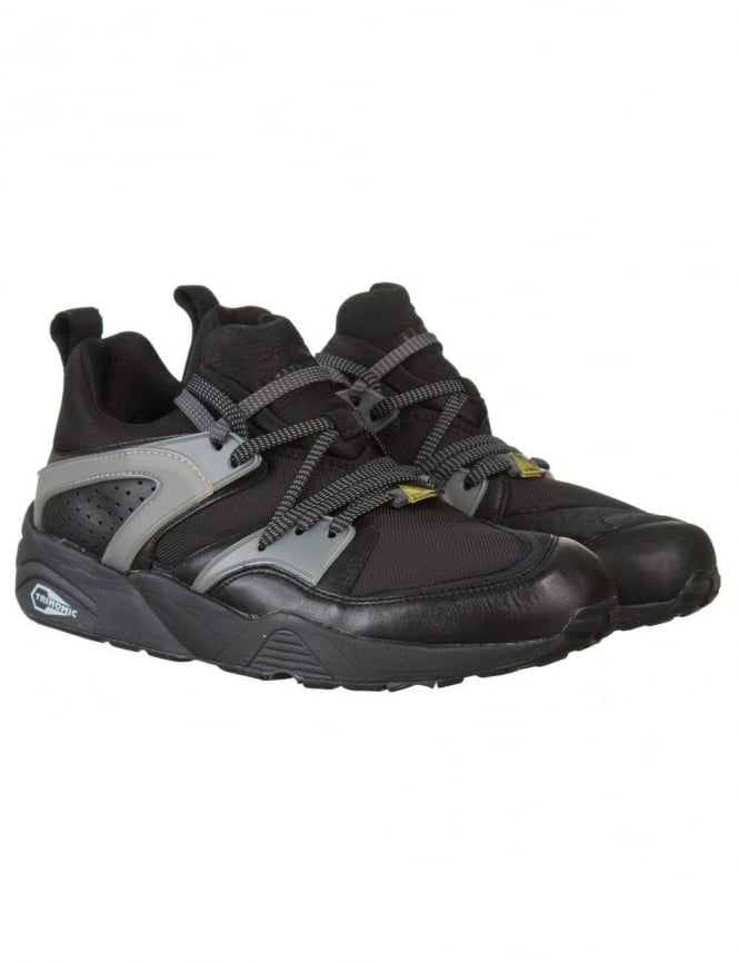 Puma Blaze of Glory Leather Shoes - Black