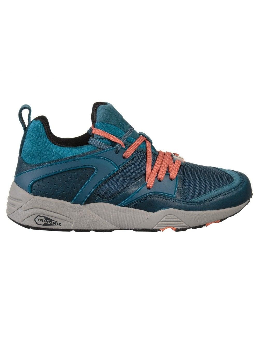 plus de photos 7fc0a 404c2 Blaze of Glory Leather Shoes - Legion Blue