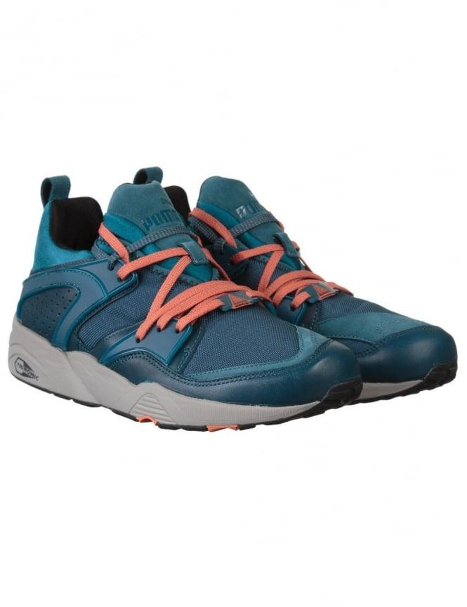 Puma Blaze of Glory Leather Shoes - Legion Blue