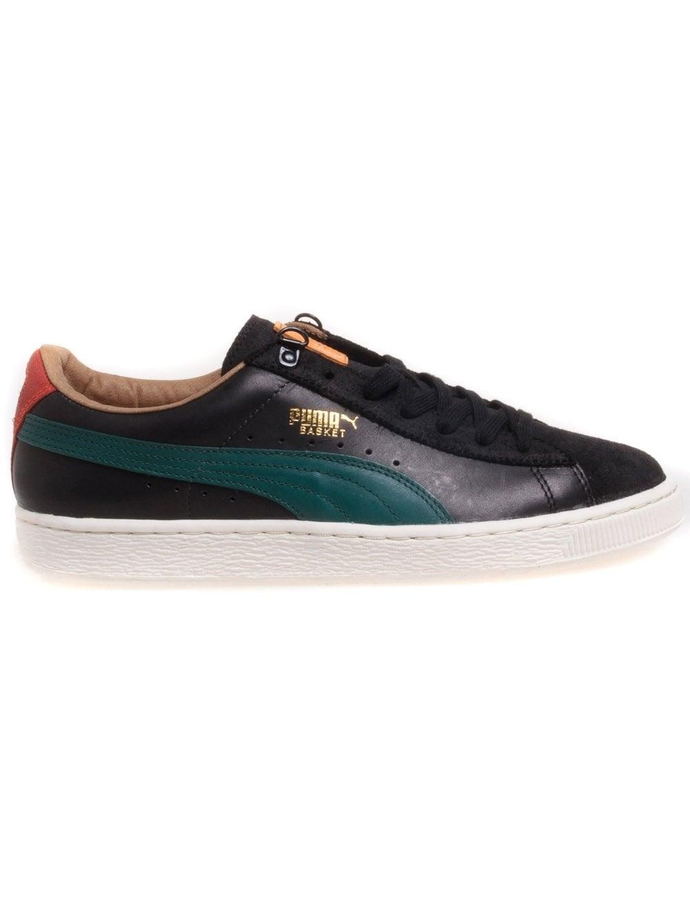 new style d0f03 a2c31 Puma MMQ Heritage Basket Classic - Black/Deep Teal - Footwear from ...