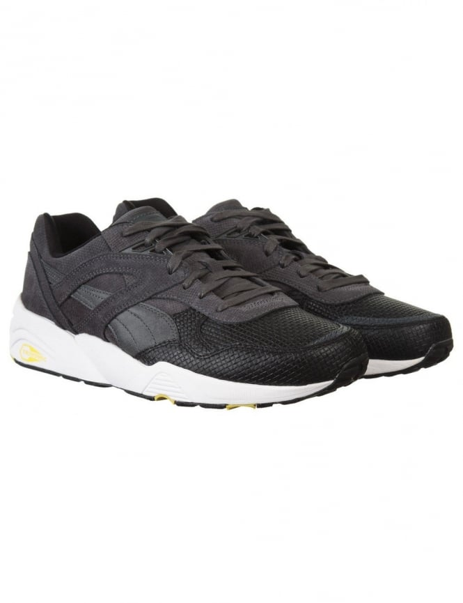 Puma R698 Q4 V2 Shoes - Black