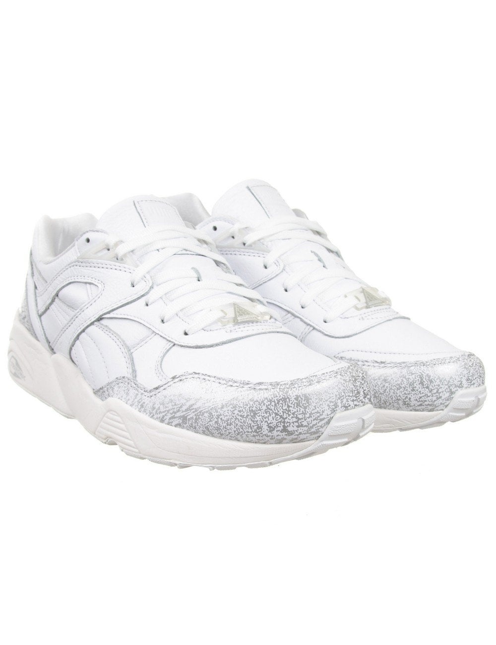 Puma R698 Shoes - White 3M Silver (Snow Splatter Pack) - Trainers ... 7bc848114