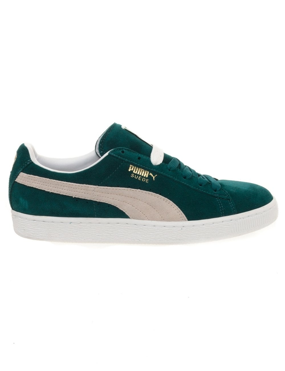 Suede Classic - Green/White