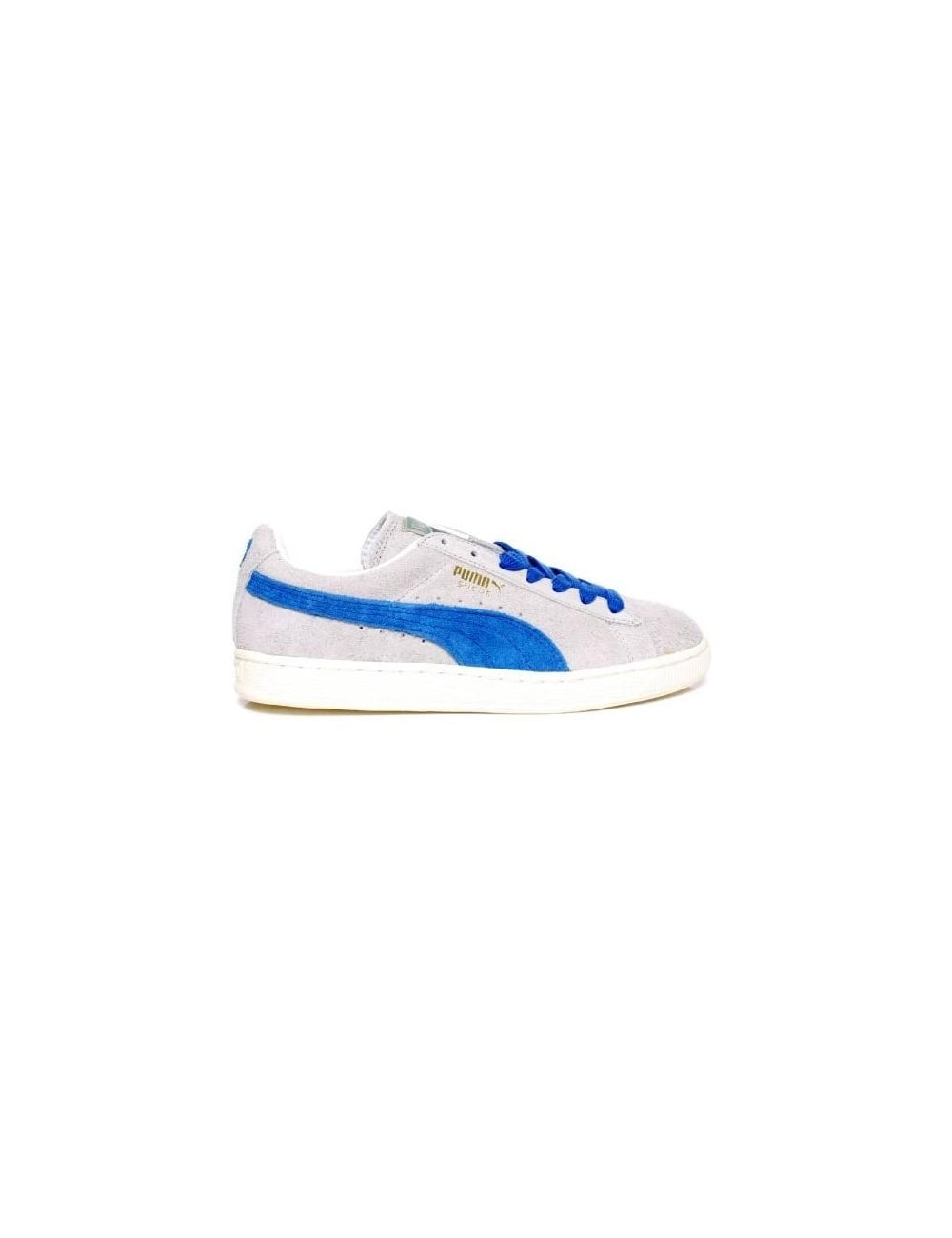 los angeles a83b6 6e6e4 Suede Vintage - Grey/Royal
