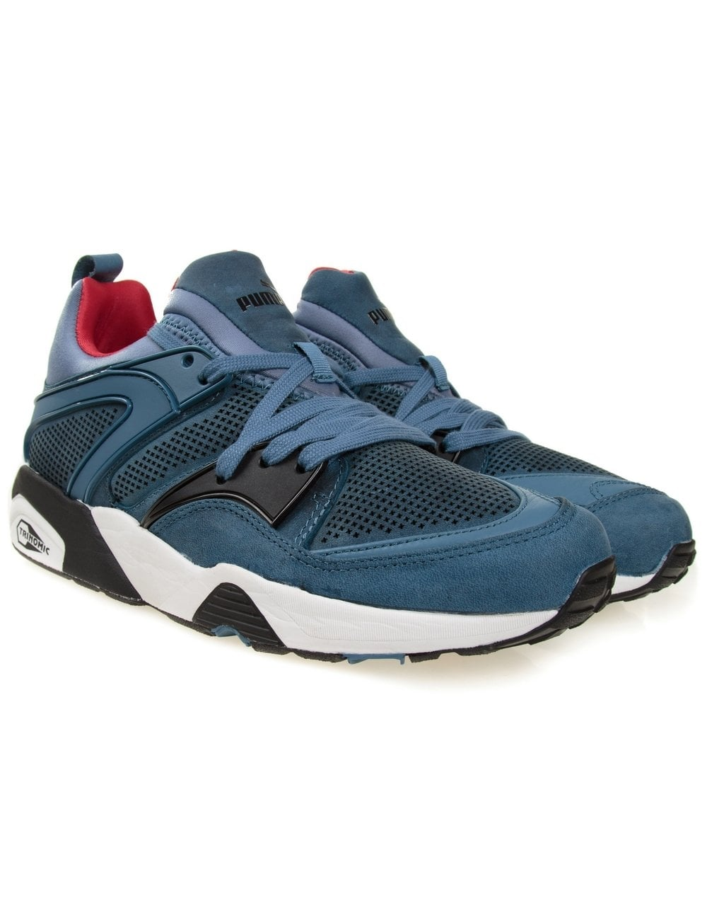 4df51b2fad34 Puma Trinomic Blaze Of Glory - Blue (Tech Edition) - Footwear from ...