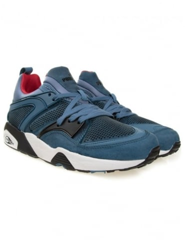 Puma Trinomic Blaze Of Glory  - Blue (Tech Edition)