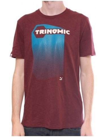 Puma Trinomic Edition Tee - Wine