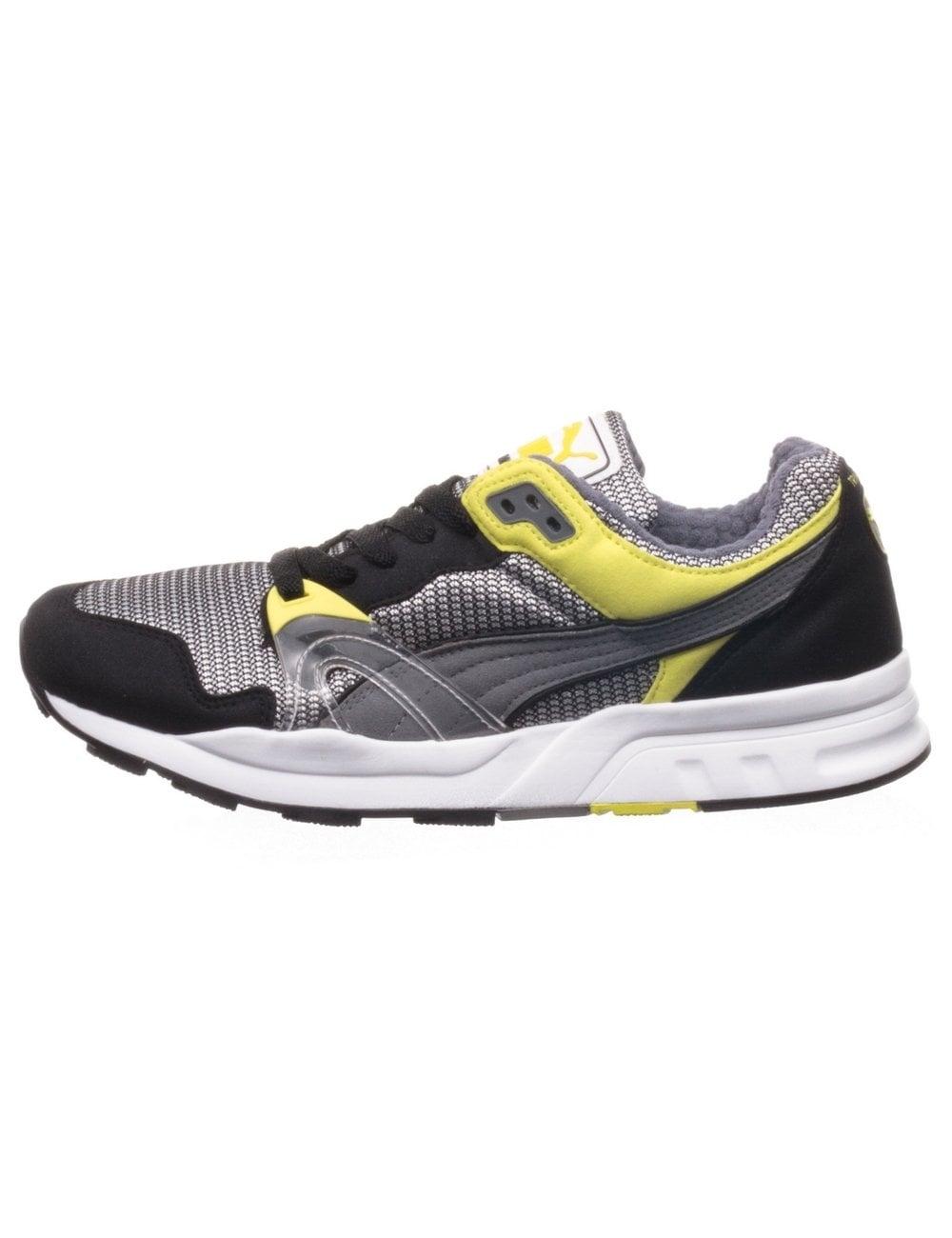04186933350 Puma Trinomic XT1 - Black Steel Grey - Footwear from Fat Buddha Store UK