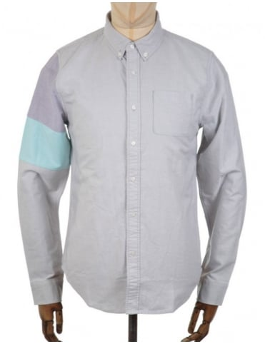 Puma x BWGH Colourblock LS Shirt - Grey