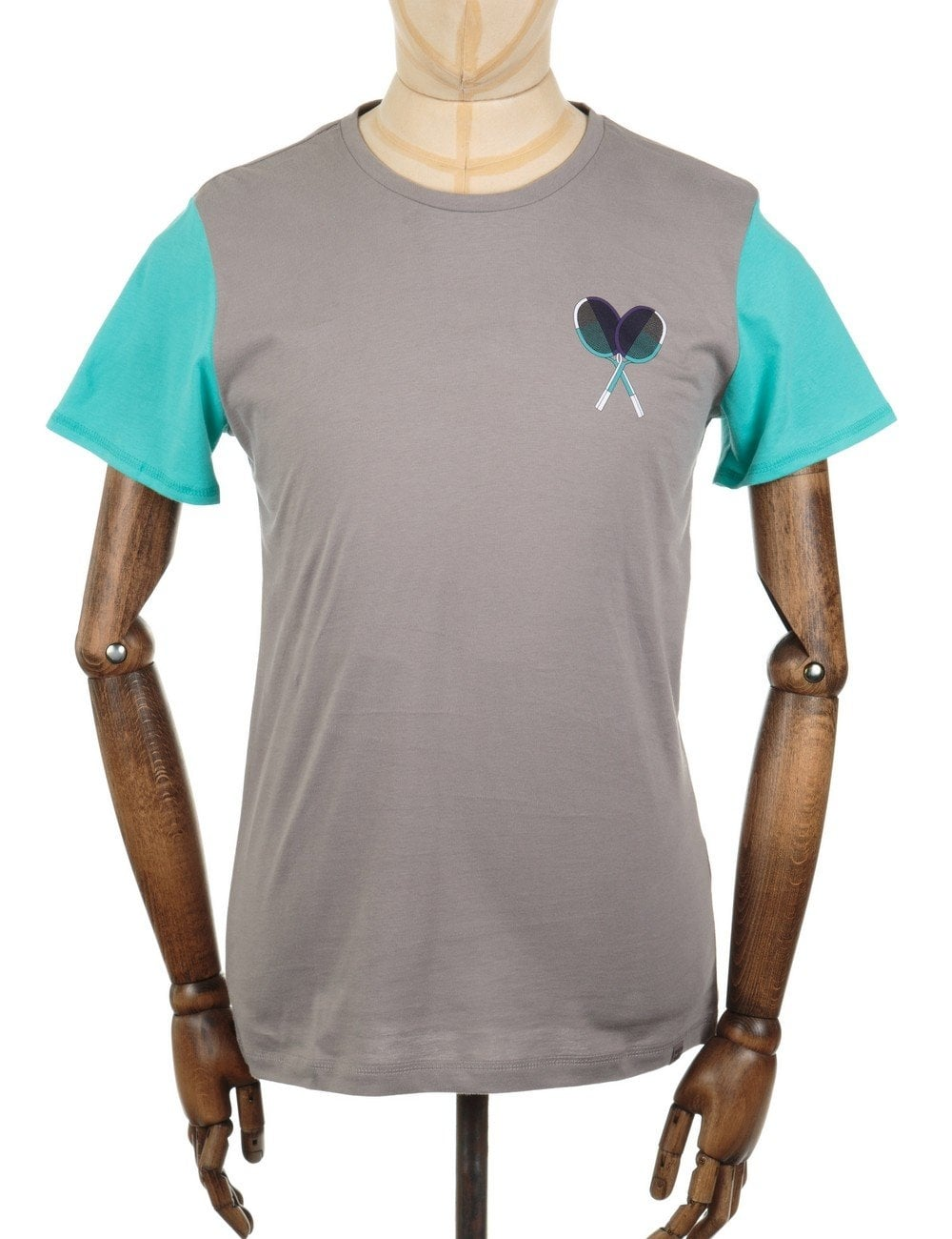 3899537e35 x BWGH Graphic T-shirt - Frost Grey
