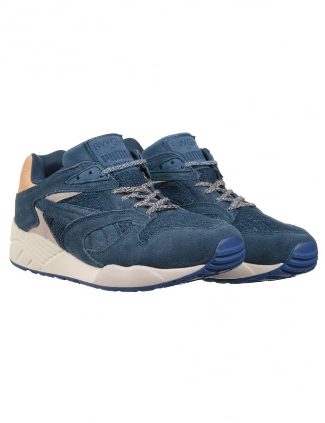 Puma x BWGH XS850 Shoes - Dark Denim