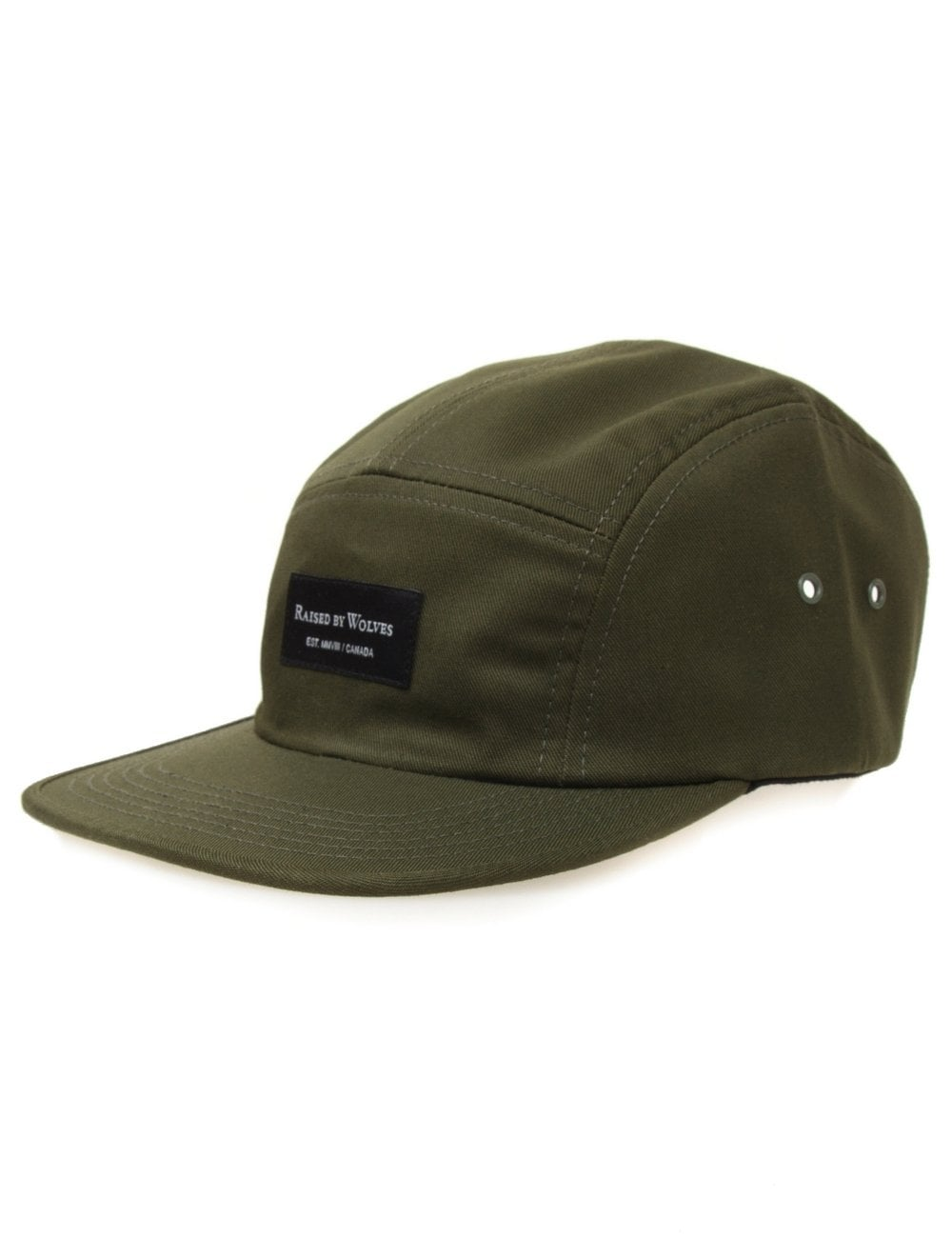 1bef19e1167 Raised by Wolves Algonquin 5 Panel Hat - Olive Drab Twill ...