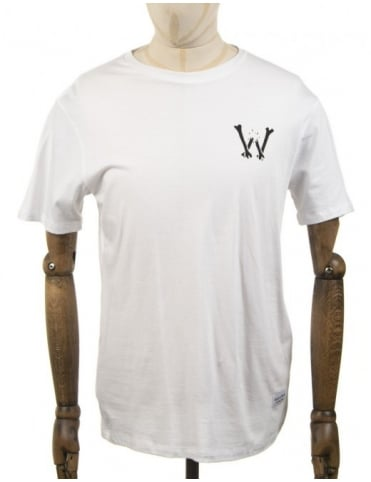 Bone Crusher T-shirt - White