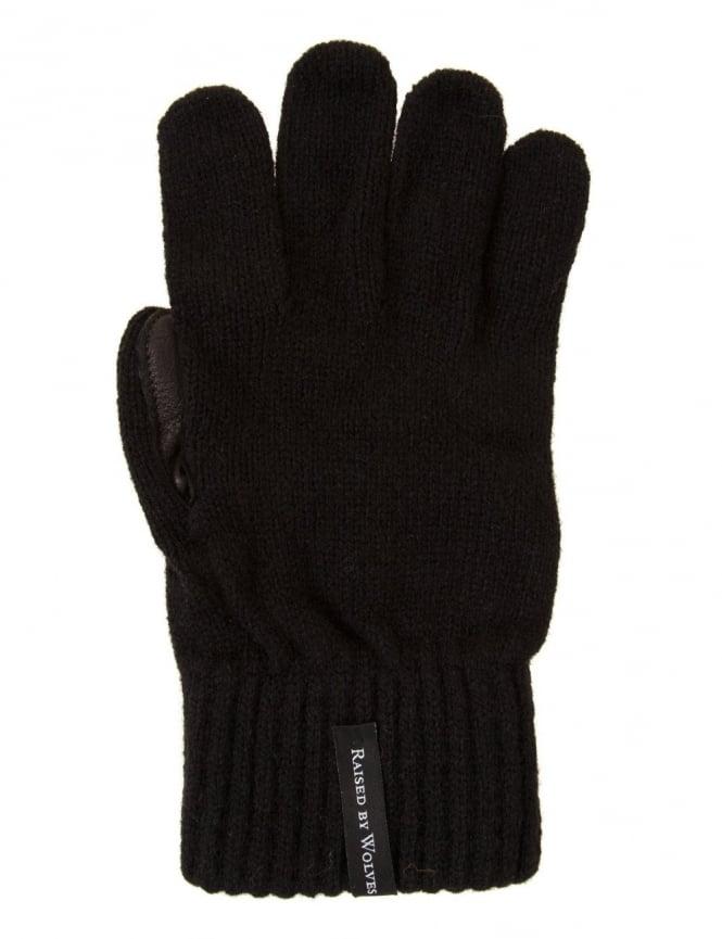 Raised by Wolves Gloves - Black