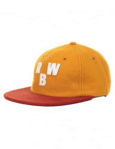 Raised by Wolves Initials Polo Hat - Peat/Amber