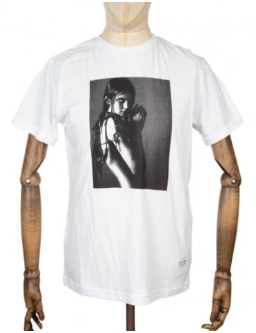 Kendall Photo T-shirt - White
