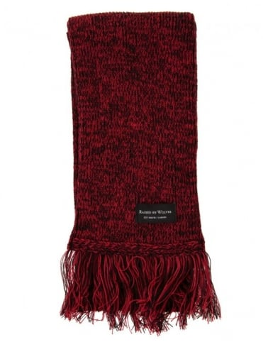 Scarf - Marled Red