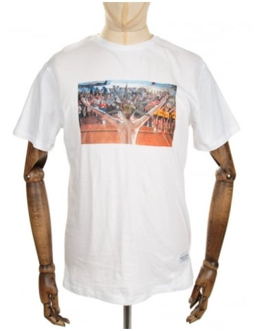 Screwballs Tee - White