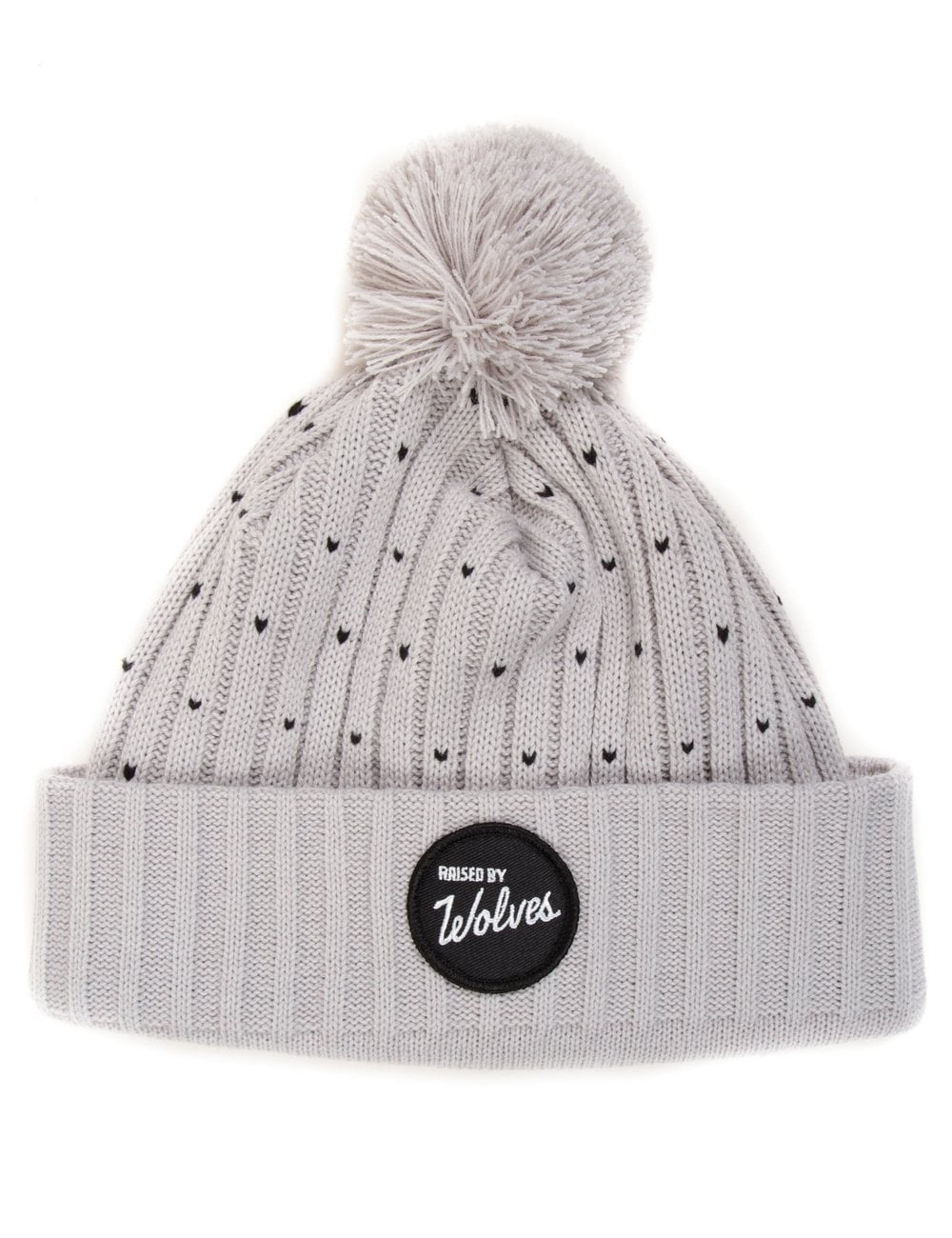 0f0c9787293 Raised by Wolves Varsity Beanie - Heather Grey Black - Accessories ...