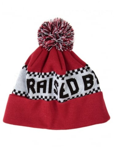 Villeneuve Toque PomPom Hat - Red