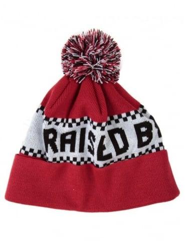Raised by Wolves Villeneuve Toque PomPom Hat - Red