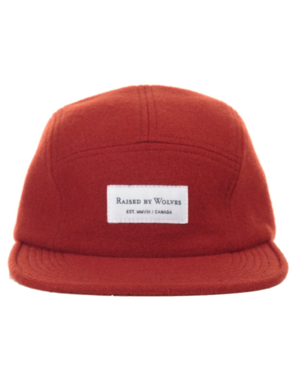 53cfa05b64e39 Raised by Wolves Woolrich 5 Panel - Rust - Accessories from Fat ...