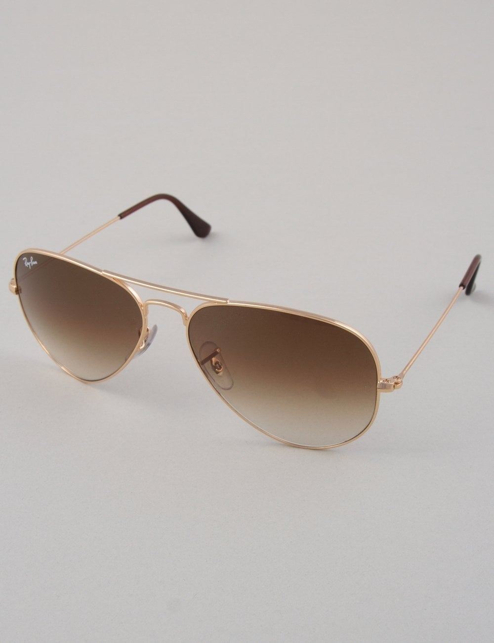 e31052c715 Ray-Ban Aviator Sunglasses - Gold    Crystal Brown - Accessories ...