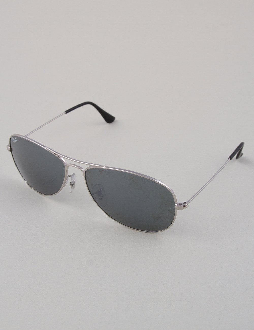 6c300e3ee2 Ray-Ban Cockpit RB3362 Sunglasses - Silver    Crystal Grey Mirror ...