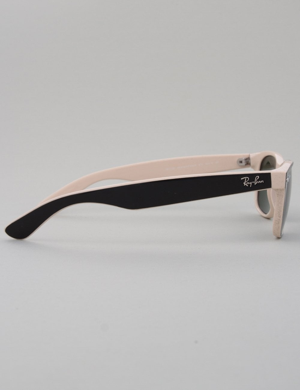73282164e3018 Ray-Ban New Wayfarer Sunglasses - Top Black on Beige    Crystal ...