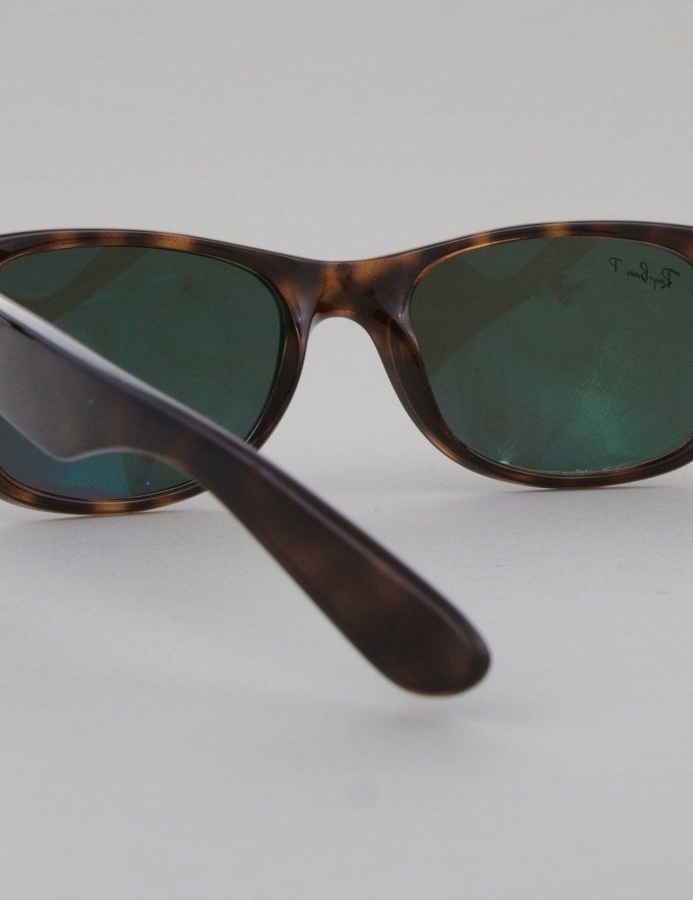 eae876a2ed Ray-Ban New Wayfarer Sunglasses - Tortoise    Crystal Green ...