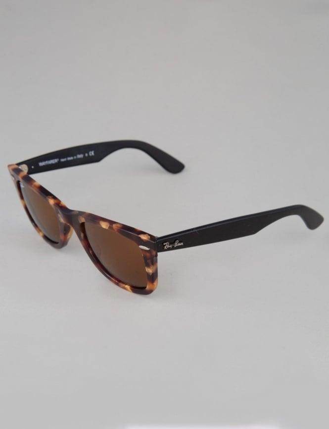 Ray-Ban Original Wayfarer Sunglasses - Spotted Brown Havana // Brown