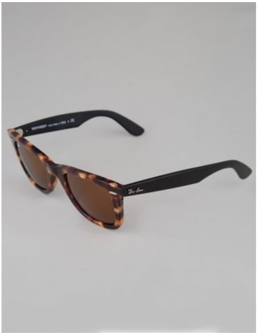 Original Wayfarer Sunglasses - Spotted Brown Havana // Brown