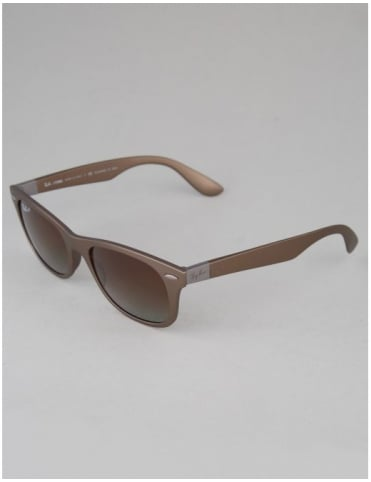 Tech Liteforce Sunglasses - Matte Brown // Polarized Brown